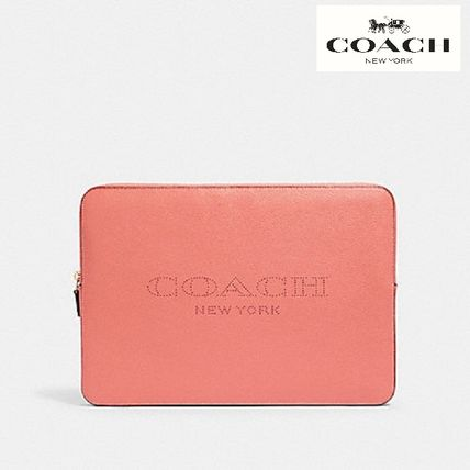 【COACH】15inch LAPTOP SLEEVE WITH COACH PRINT 93148