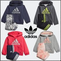 adidas HOODED JOGGER スウェット パーカー 上下2点セット 0M-4A