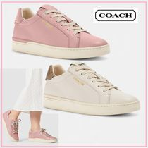 COACH Clip Low Top レザー スニーカー