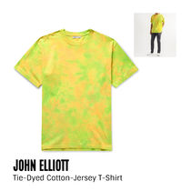 {John Elliott} Tie-Dyed Cotton-Jersey T-Shirt 送料関税込