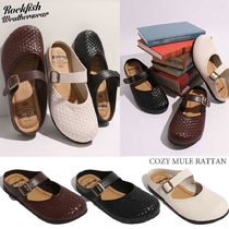 ◆送料無料◆ROCK FISH◆COZY MULE RATTAN◆サンダル◆