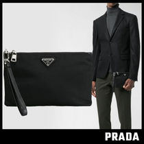 【PRADA】Strap Pouch Clutch Bag クラッチバッグ