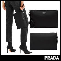 【PRADA】ナイロンポーチ POUCH WITH HANDLE