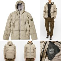 [STONE ISLAND]  REPS HOODED DOWN JACKET 送料関税無料