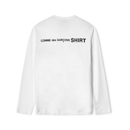 COMME des GARCONS Tシャツ・カットソー 新作 送料込  3カラー コムデギャルソン シャツ ロゴ カットソー(2)