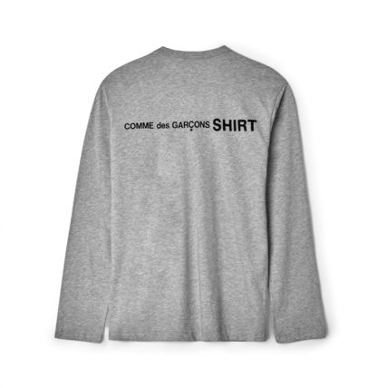 COMME des GARCONS Tシャツ・カットソー 新作 送料込  3カラー コムデギャルソン シャツ ロゴ カットソー(6)