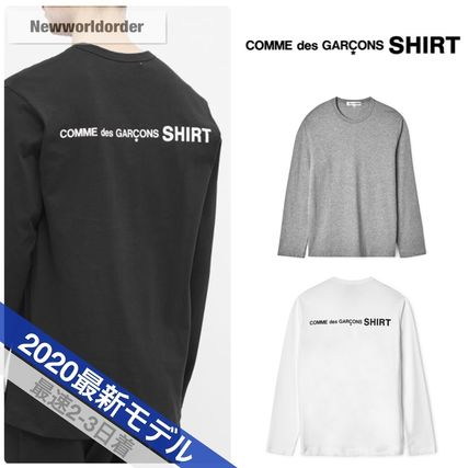 COMME des GARCONS Tシャツ・カットソー 新作 送料込  3カラー コムデギャルソン シャツ ロゴ カットソー