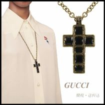 *GUCCI*クロス ネックレス 関税/送料込