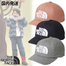 The North Face☆Kids' TNF LOGO Flannel Cap 国内発送・買付