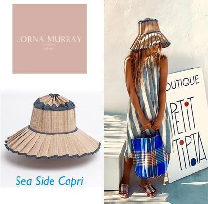 Lorna Murray ハット SALE!! 大人気のLorna Murray Capri * Sea Side カプリ