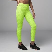 ★国内在庫★ Zumba Laser High Waisted Leggings Neon Yellow