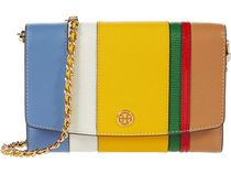 【SALE】Tory Burch Robinson Balloon Stripe Chain Wallet