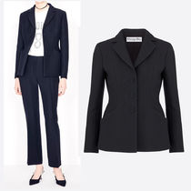 DIOR BAR JACKET IN WOOL AND SILK
