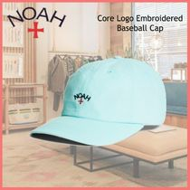 ショップ限定◆NOAH◆Core Logo Embroidered Baseball Cap