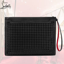 ChristianLouboutin ルブタンSkypouch カーフスキンバッグ