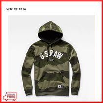 【G-STAR RAW】Graphic 13 Core Hooded カモ柄パーカー 関・送込