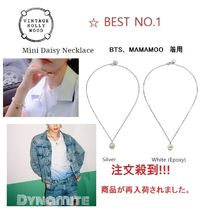 BTS着用[VINTAGE HOLLYWOOD] Mini Daisy Necklace( UNISEX)