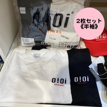 oioi korea(オアイオアイ) Tシャツ・カットソー 20/SS★【5252 by OiOi】ORIGINAL LOGO 2 PACK T-SHIRTS
