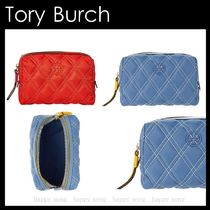 Tory Burch◆Perry ナイロン コスメポーチ◆SALE