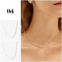 割引クーポン〇◆HEI◆追跡付◆unbalance pearl chain necklace