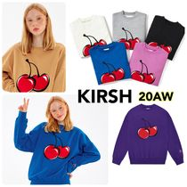 新作追加【kirsh】BIG CHERRY SWEATSHIRT 《追跡付》