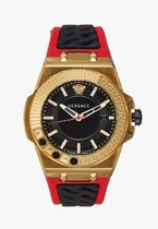 ☆新作☆人気★Versace Watches CHAIN REACTION - Watch [red]