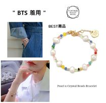 BTS着用[VINTAGE HOLLYWOOD]Pearl n Crystal Beads Bracelet