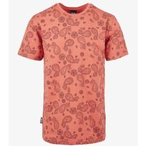 "【CAYLER&SONS】""CALI PAIZ TEE""デザインプリントTシャツ☆coral"