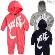 NIKE▼Play All Day フード付カバーオール▼Baby Boys and Girls