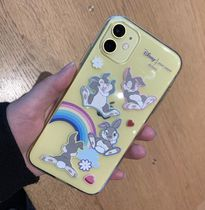 【HIGH CHEEKS】韓国発★ Rainbow Thumper Jelly iPhoneケース