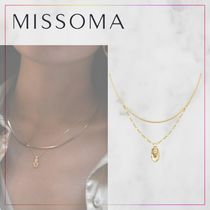 【MISSOMA】GOLD CAMEO CHAIN ネックレスセット