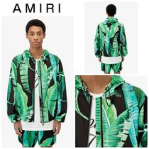 【AMIRI】☆日本未入荷☆ AMIRI BANANA LEAVES HOOD PARKA