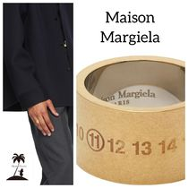 ★Maison Margiela★Mens  Chunky Numbers リング/Gold