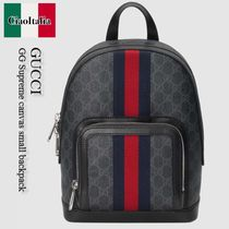 Gucci   GG Supreme canvas small backpack