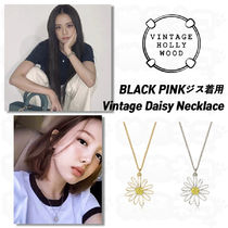 BLACK PINKジス★Vintage Hollywood★Vintage Daisy Necklace