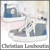 【Christian Louboutin】AC Loulou Spikes ハイトップスニーカー