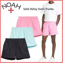 20AW◆ショップ限定アイテム◆Noah◆Solid Volley Swim Trunks