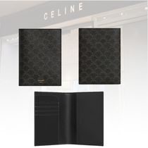 新作★CELINE★TRIOMPHE CANVAS PASSPORT HOLDER ホルダー