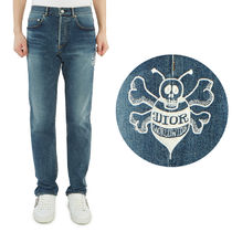 Dior*Shawn Bee embroidered スリム ジーンズ