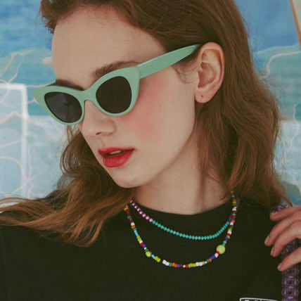 VINTAGE HOLLYWOOD ネックレス・チョーカー BTS V着用★日本未入荷 ネックレス Color Spread Beads Necklace(4)