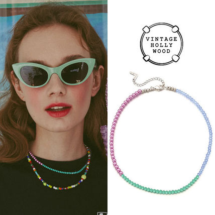 VINTAGE HOLLYWOOD ネックレス・チョーカー BTS V着用★日本未入荷 ネックレス Color Spread Beads Necklace