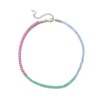 VINTAGE HOLLYWOOD ネックレス・チョーカー BTS V着用★日本未入荷 ネックレス Color Spread Beads Necklace(6)