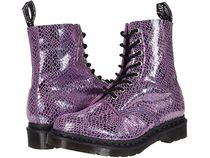 【SALE】Dr. Martens 1460 Pascal Metallic Snake 8-Eye Boot