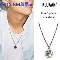 KUJAAN(クジャーン) ネックレス・ペンダント 【KUJAAN】love&peace necklace ★BTS RM着用★