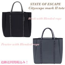 State of Escape(ステイトオブエスケープ) トートバッグ 大人気!追跡あり☆State of Escape☆City Scape Bag