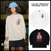 ☆I AM NOT A HUMAN BEING☆Brain Baggage Long Sleeve T-Shirt