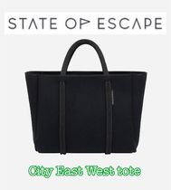 【State of Escape】City East West tote/ブラック/追跡便
