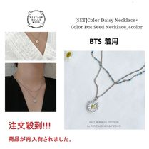 BTS着用! SET Daisy Necklace+ COLOR DOT SEED Necklace(UNISEX)