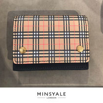 【BURBERRY OUTLET 新品】Burberry Check カードケース財布