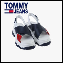 ★TOMMY JEANS★ladies カラーブロック 厚底サンダル
